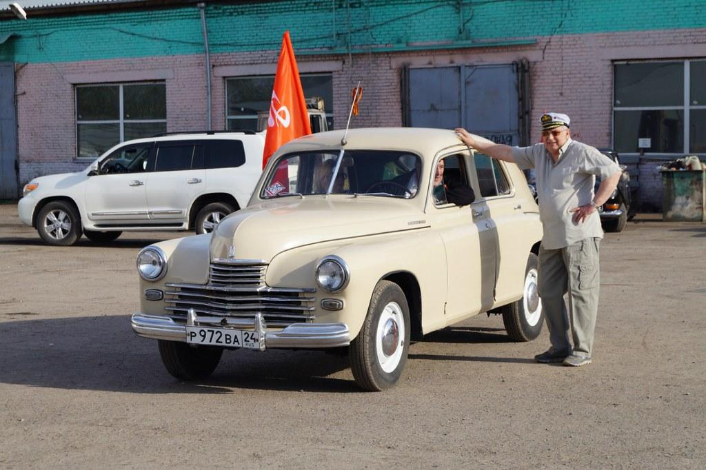 Победа на автопробеге в Красноярске