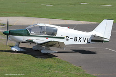G-BKVL - 1983 build Robin DR400/160 Chevalier, visiting Barton