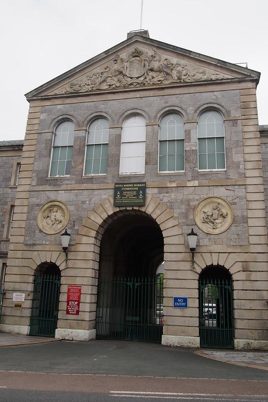 Royal Marines Barracks, Stonehouse, Plymouth
