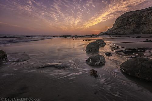 Goleta (CA) United States Picture : A very sad day at Refugio Beach