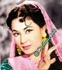 Meena kumari color