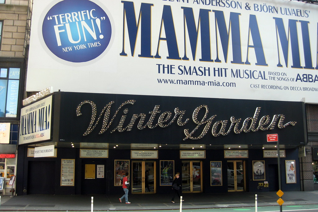 Nyc Theatre District Winter Garden Theatre The Winter G Flickr