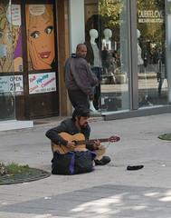road, street artist, street, pedestrian, infrastructure,