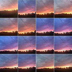 Good evening! Bonsoir ! (Et oui, nous ne nous lassons pas de ces couchers de soleil...) #lagrossetalle #paysmellois #deuxsevres #ciel #sky