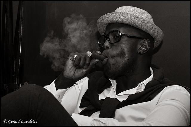 Le fumeur de cigare.
