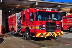 Montgomery County Fire and Rescue Service Engine 722