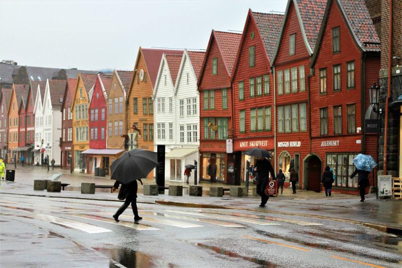 Bergen y fiordos noruegos