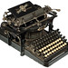 The Hartford  typewriter - 1896, antiquetypewriters.com by antique typewriters