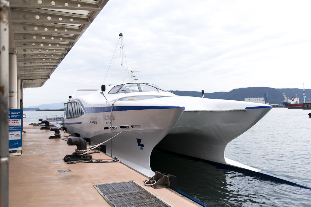 high-speed craft / takamatsu-kusakabe
