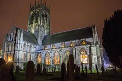 St Augustine's lit up