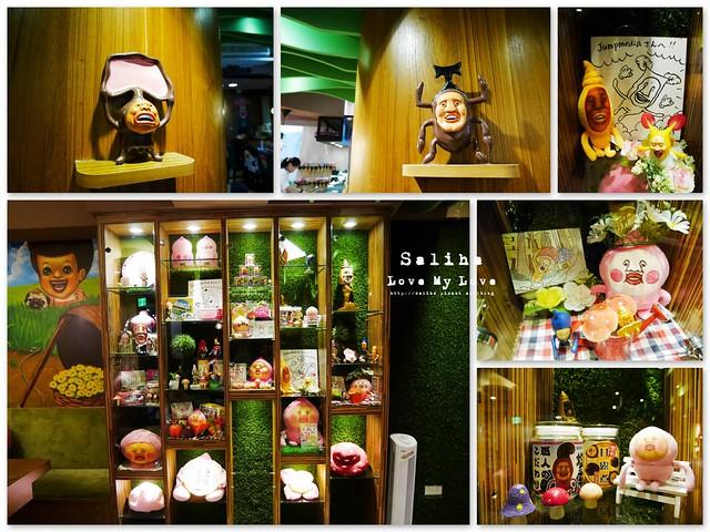 台北東區主題餐廳醜比頭的秘密花園輕食咖啡屁桃 (44)