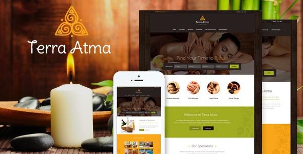 Terra Atma v1.6.2 - Spa & Massage Salon WordPress Theme
