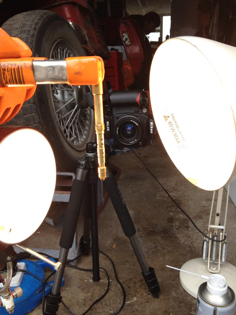 Carb shoot setup