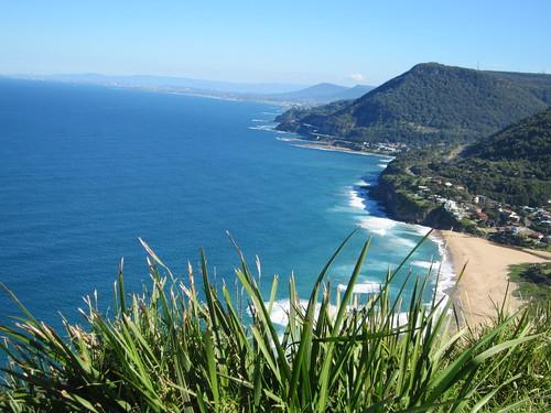 Veiw over Wollongong