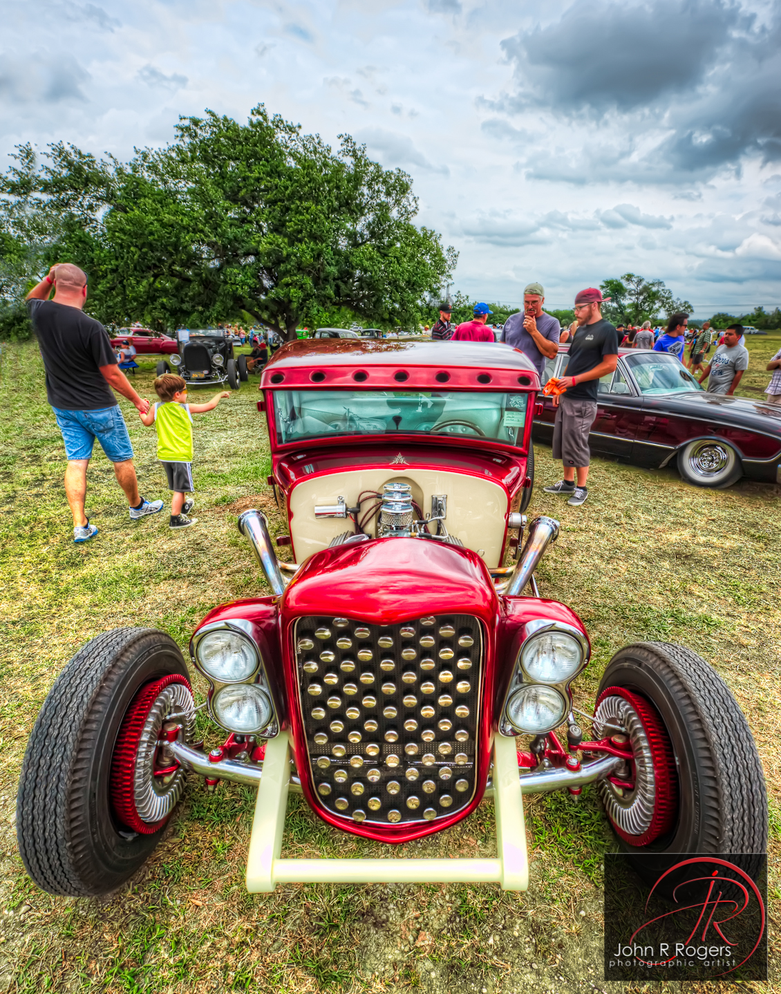 Lone Star Rod & Kustom Roundup Car