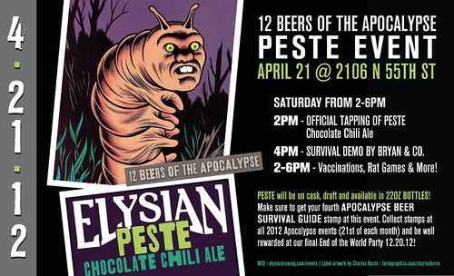12 Beers of the Apocalypse: Peste