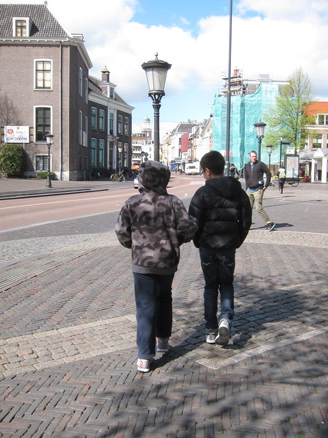 The boys in Utrecht