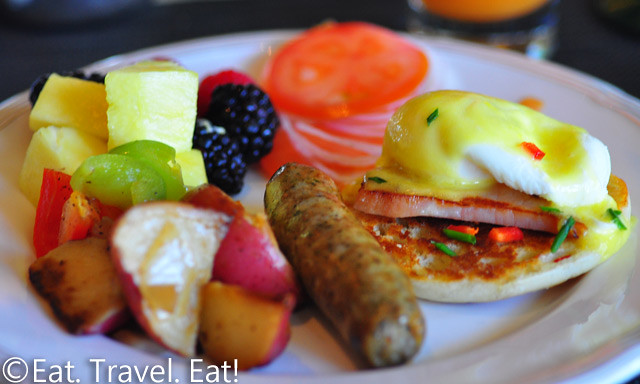 St Regis Monarch Beach- Dana Point, CA: Motif- Breakfast Buffet, Plate 1