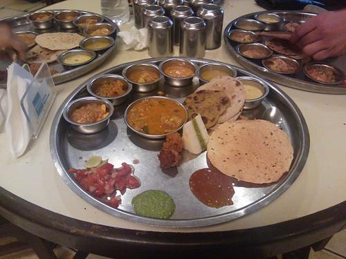 Rajasthani/Gujarati Thali