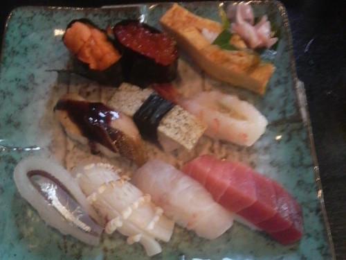 幸手市「葉菜和」さんのお寿司