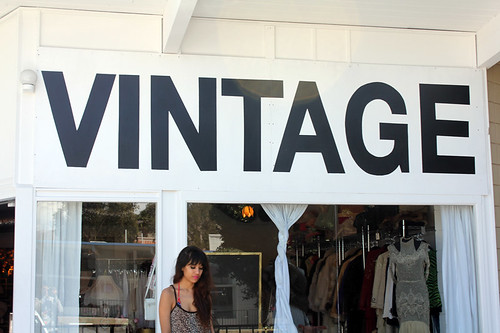 Vintage Store in Palm Springs
