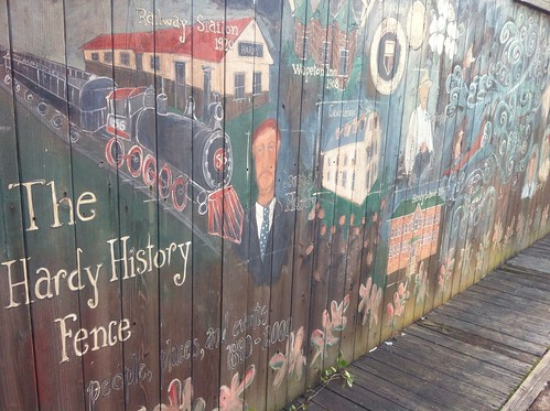 The Hardy History Fence