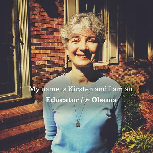 Kirsten: An Educator for Obama