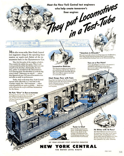 1945 ... locomotive in test-tube! by x-ray delta one