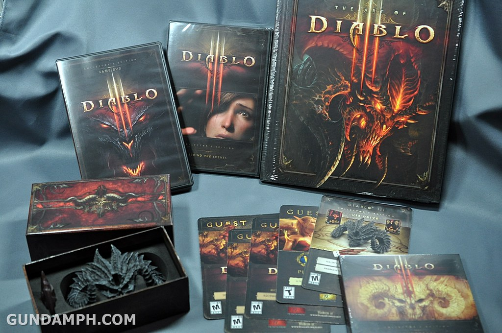 Diablo 3 Collector's Edition | Unboxing | Content Review ...