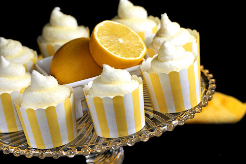 Lemon Snow Cone Cupcakes by IrishMomLuvs2Bake