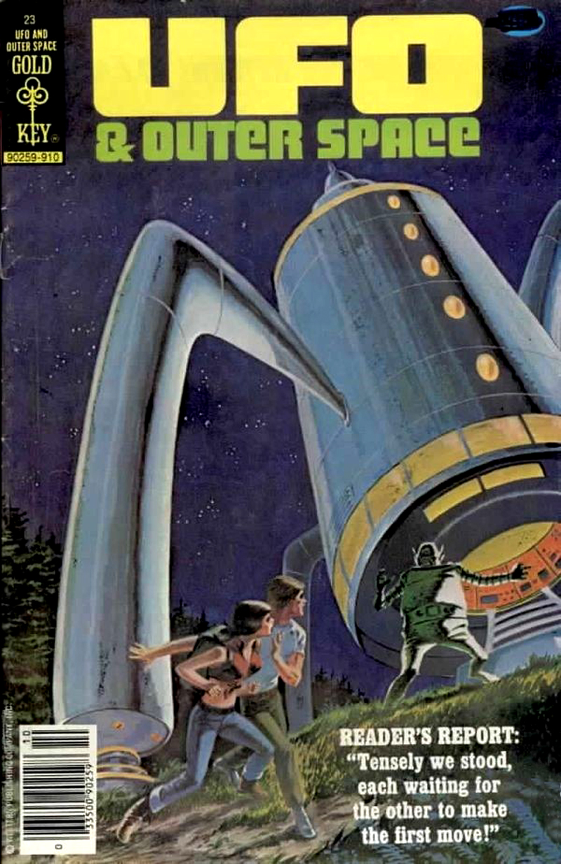 UFO and Outer Space #23 (Gold Key, 1979)