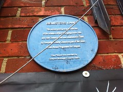 Photo of Bemisters Lane blue plaque