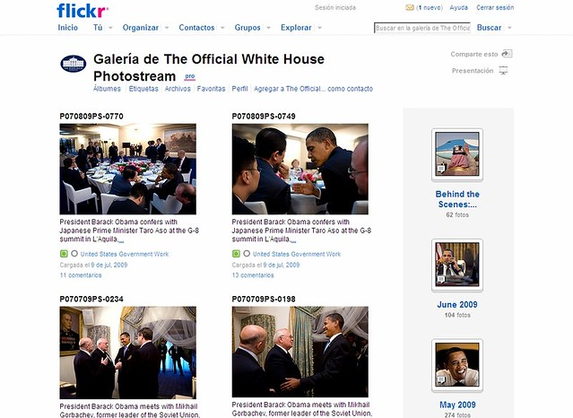 flickr clásico