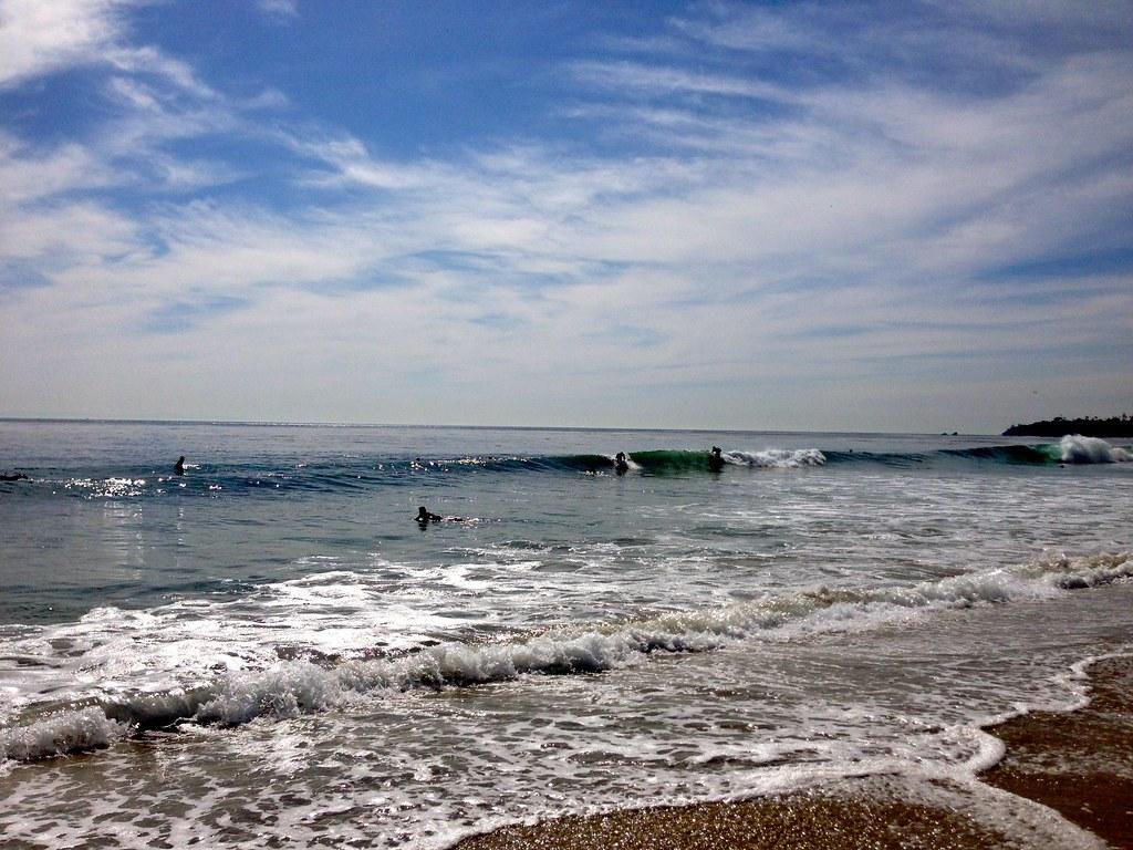 Laguna Beach surfers