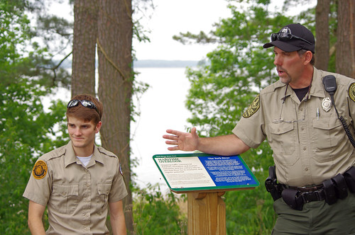 Geocaching is great fun at Virginia State Parks