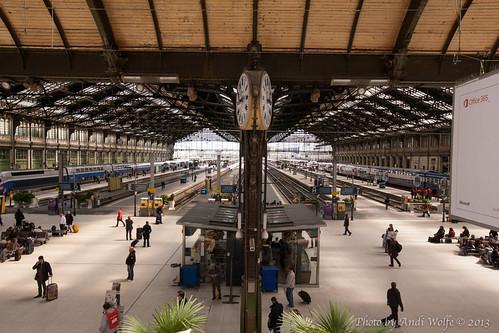 Gare de Lyon by andiwolfe