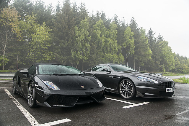 Lamborghini Gallardo LP570-4 Spyder Performante & Aston Martin DBS | Explore #106, May 28th 2013