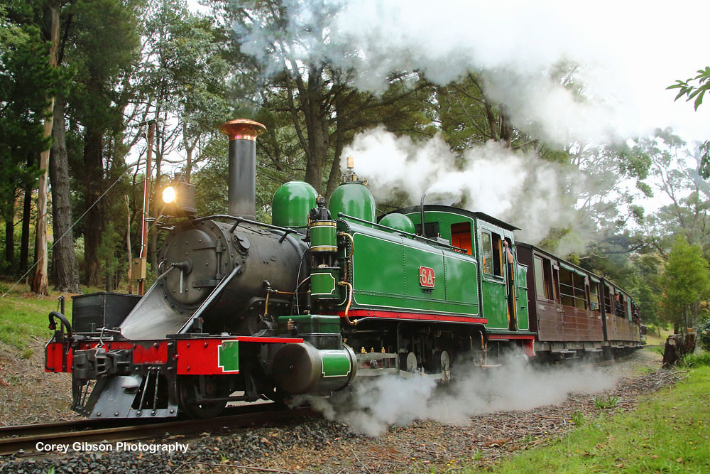 Puffing Billy Railway by Corey Gibson