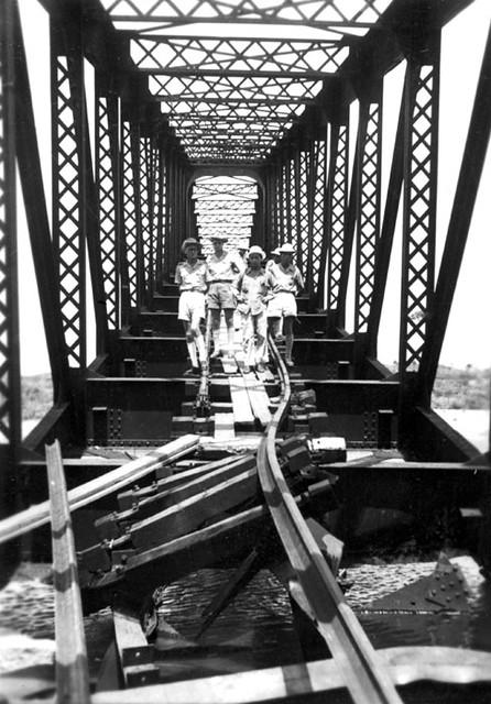 1953 Sabotage de ponts en Indochine