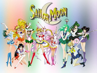 the whole sailor moon squad