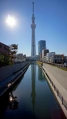 20130428 東京玩第二天 045  sky tree 東京スカイツリー 十間橋