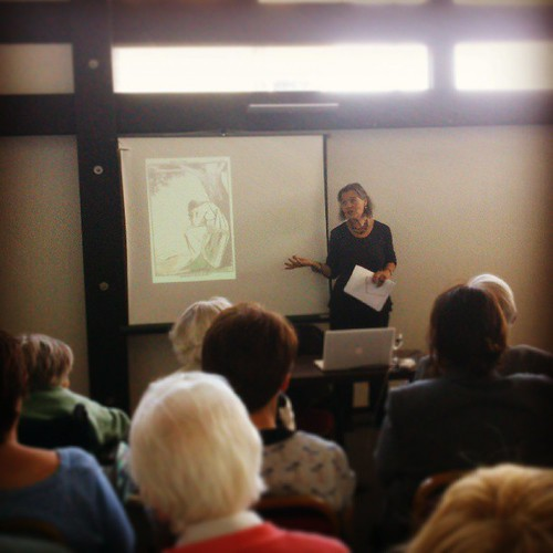 Pioneering academic, Dr. Nicola Gordon Bowe speaking on the Yeats Sisters 'Unsung Heroines' as part of #YeatsDay celebrations #sligo