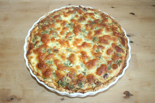51 - Tarte au poule - Fertig gebacken / Finished baking