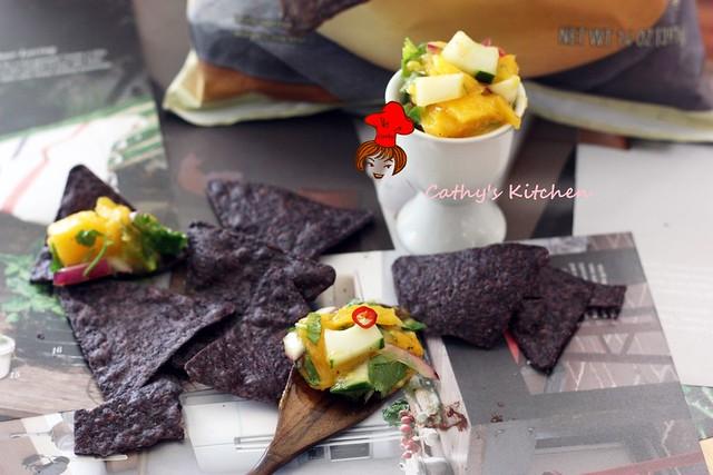勁辣芒果莎莎醬 Mango Salsa 1