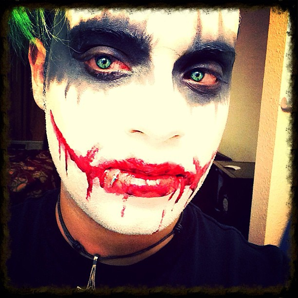 Orheyn Lay Lay Joker Version Song Download: Joker Eyes! #contacts #green #joker #cosplay #scars