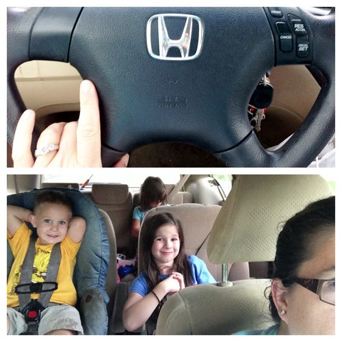Heading home from a road trip to see family. They have been such good travelers. #bpcphonephotographyproject