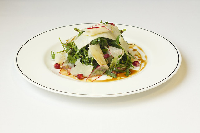Rocket and pomegranate salad  © Lia Vittone/ROH 2013