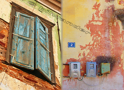 Greece, Corfu island, Lefkimi, details in decay