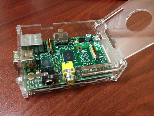 Raspberry Pi + Case