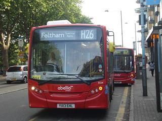 Abellio 8124 (H26), 8570 (117), Feltham
